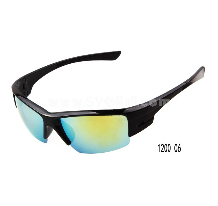 Polarized Unisex Goggles Sunglasses with Spectacle Case 1200 -- UV400