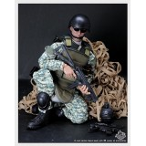 Wholesale - 1:6 Camo Soldier Model Military Model Figure Toy with 30 Points of Articulation 12""