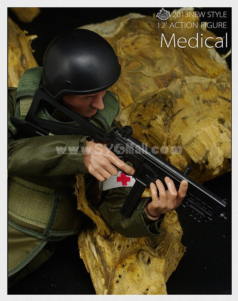 """1:6 Soldier Model Military Model Figure Toy Medical Solider 12"""""""