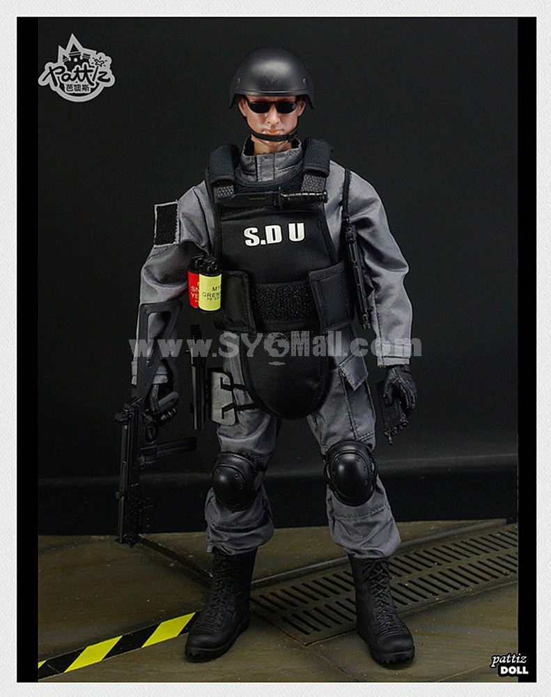 """1:6 Soldier Model Military Model Figure Toy SDU 12"""""""