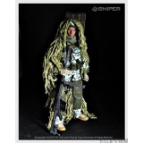 """wholesale - 1:6 Soldier Model Military Model Figure Toy Jungle Sniper 12"""""""