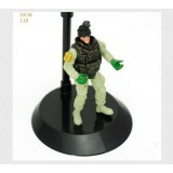 "Wholesale - 1:18 Soldier Model Military Model Figure Toy 4"" Rangers"
