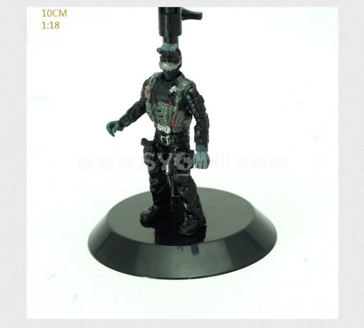 """1:18 Soldier Model Military Model Figure Toy 4""""  Paratrooper"""