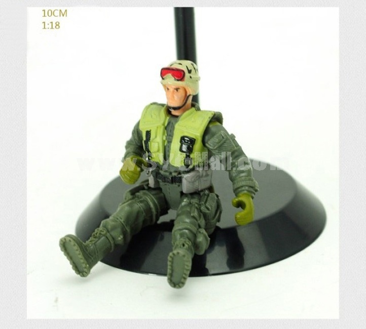 """1:18 Soldier Model Military Model Figure Toy 4"""" ACU"""