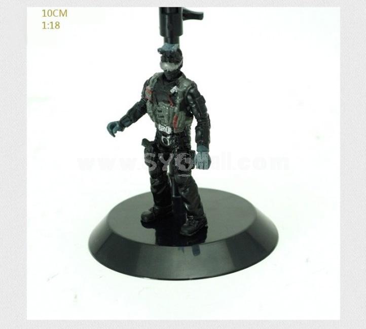 "1:18 Soldier Models Military Models Figure Toys 4"" 6pcs/Set"