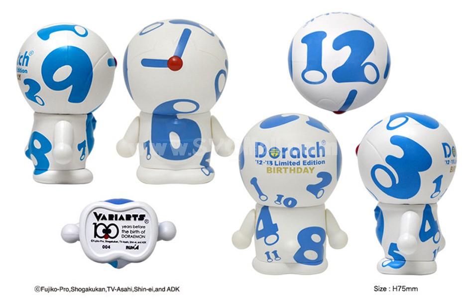 "Doraemon 100th Anniversary Edition Arm Moveable Figure Toy 7.5cm/2.9"" 004"