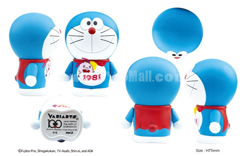 "Doraemon 100th Anniversary Edition Arm Moveable Figure Toy 7.5cm/2.9"" 016"