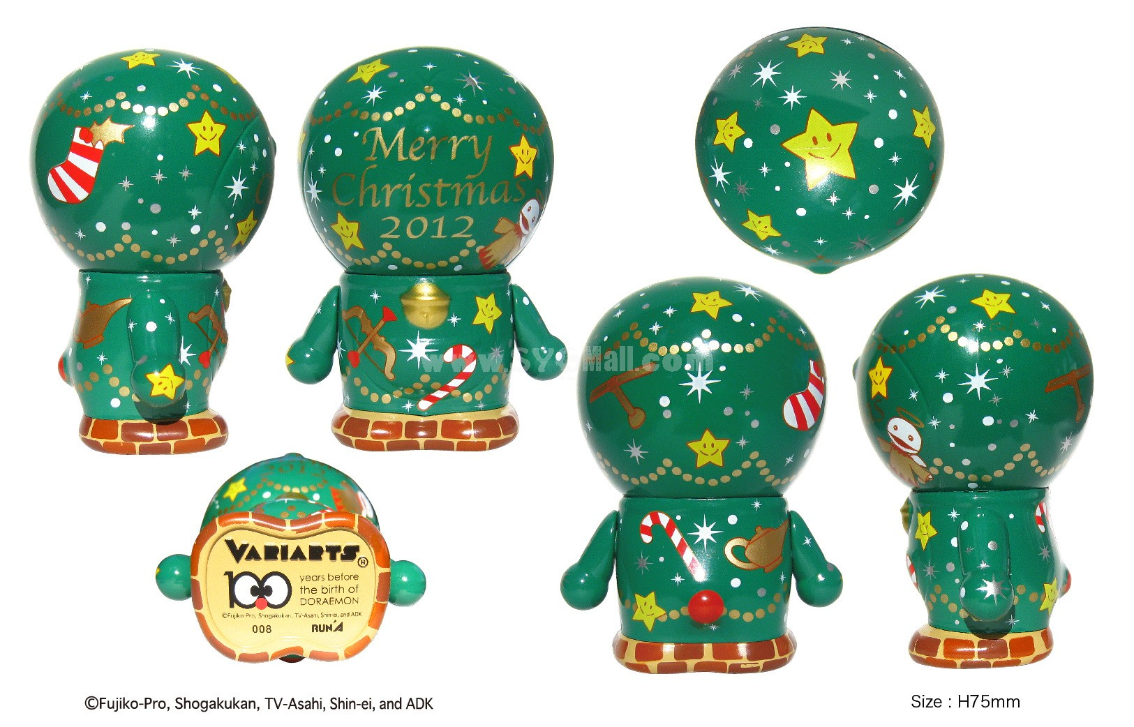 "Doraemon 100th Anniversary Edition Arm Moveable Figure Toy 7.5cm/2.9"" 008"