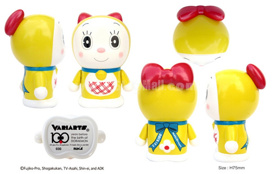 "Doraemon 100th Anniversary Edition Arm Moveable Figure Toy 7.5cm/2.9"" 030"