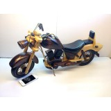 Wholesale - Handmade Wooden Decorative Home Accessory Vintage Motorcycle Classic Motorcycle Model 1003