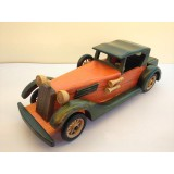 Wholesale - Handmade Wooden Decorative Home Accessory Vintage Car Classic Car Model 2002