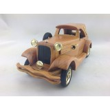 Wholesale - Handmade Wooden Decorative Home Accessory with Metal Decoration Vintage Car Classic Car Model 2006