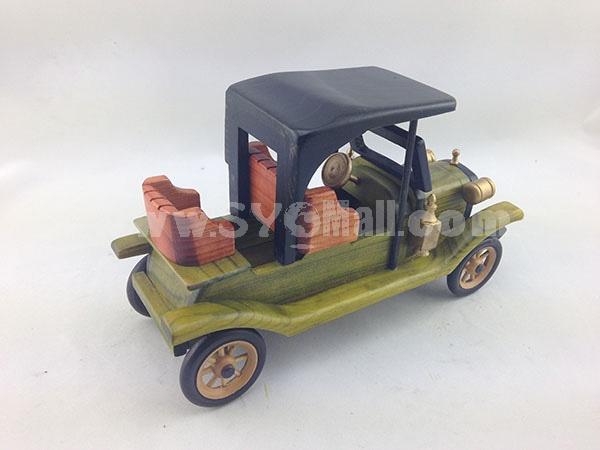 Handmade Wooden Decorative Home Accessory Vintage Car Classic Car Model 2015