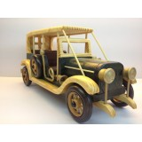 Wholesale - Handmade Wooden Decorative Home Accessory Vintage Car Classic Car Model 2018