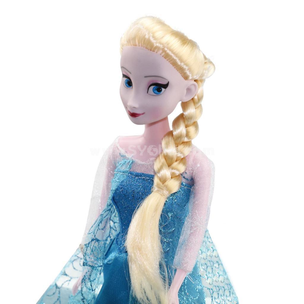 "Wholesale - Frozen Princess Action Figures Figure Doll 33cm/13.0"" Anna Elsa with Olfa"