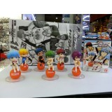 "Wholesale - Kuroko's Basketball Figures Toys 2.0"" 6pcs/Lot"