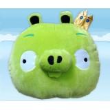"""wholesale - Crazy Birds Plush Toy Crown Pig 36cm/14.2"""""""