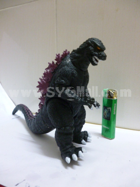 Godzilla Figure Toy Vinyl Toy Black with Purple 30cm/11.8""