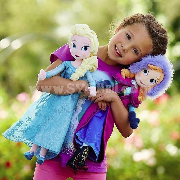 "Frozen Plush Toy Anna & Elsa Figure Doll 40cm/15.7"""