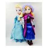 """wholesale - 2Pcs Set Frozen Plush Toys Anna & Elsa Figure Doll 50cm/19.7"""""""