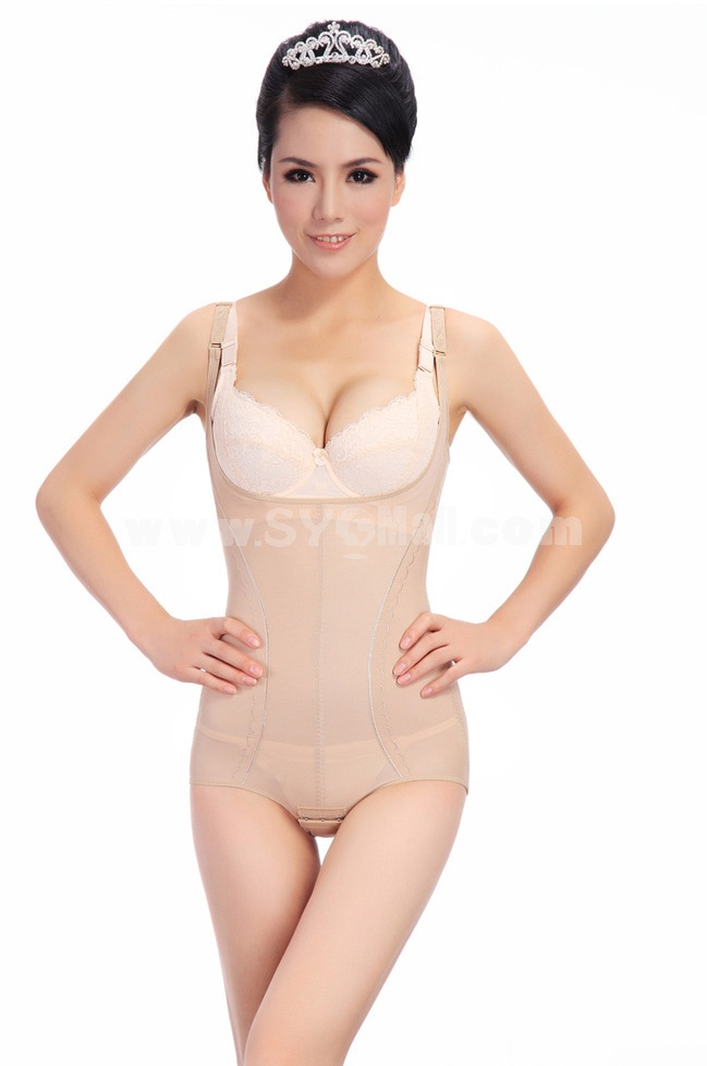 Summer Thin Tummy Control Gauze Shapewear Corset 8811