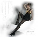 Wholesale - YTing Slim Stripe Velvet Pantyhose Stockings (6302)