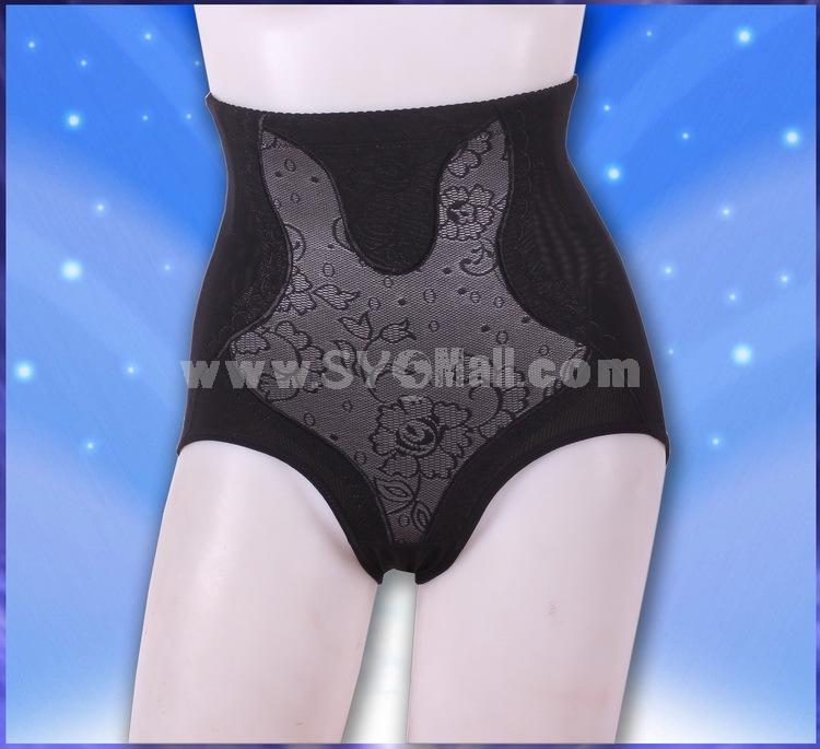 Lady High-rise Tummy Control Butt Lifting Shaping Pants Control Pants 8825