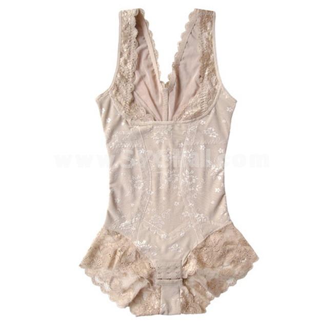 Lace Summer Lady Tummy Control Breast Shaping Shapewear Corset