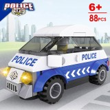 Police Story Building Blocks Compatible with Lego TS10110