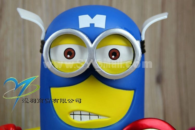 Captain American Minions Despicable Me Figure Toy 20cm/7.9inch