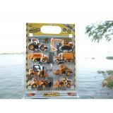 wholesale - Mini Yellow Alloy Car Models 8pcs/Kit