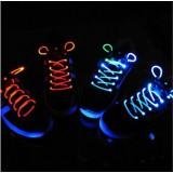 Wholesale - Creative Colorful LED Shining Shoe Lace 1 Pair