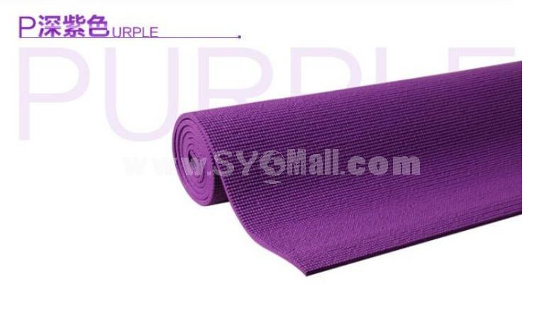 8mm Super-thick  Moistureproof Single Yoga Mat for Beginners Fitness Blanket