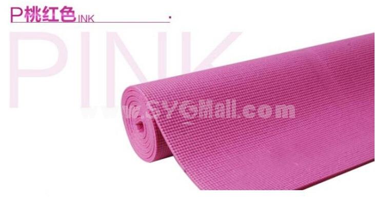 3.5mm Moistureproof Single Yoga Mat for Seniors Fitness Blanket