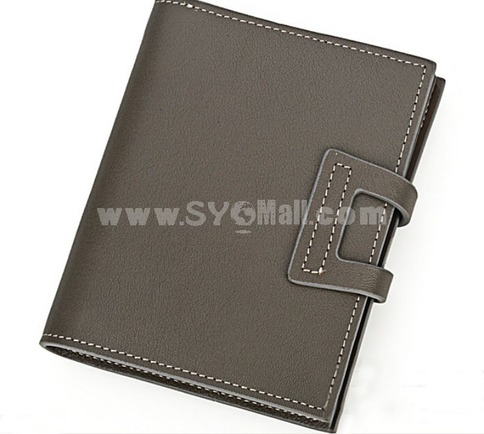 Playboy Men's Short Leather Wallet Purse Notecase PAA4496-11