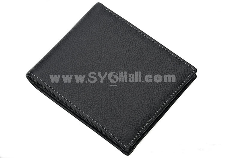 Playboy Men's Short Leather Wallet Purse Notecase 1613