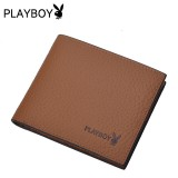 Wholesale - Playboy Men's Short Leather Wallet Purse Notecase PAA4435-3Y6