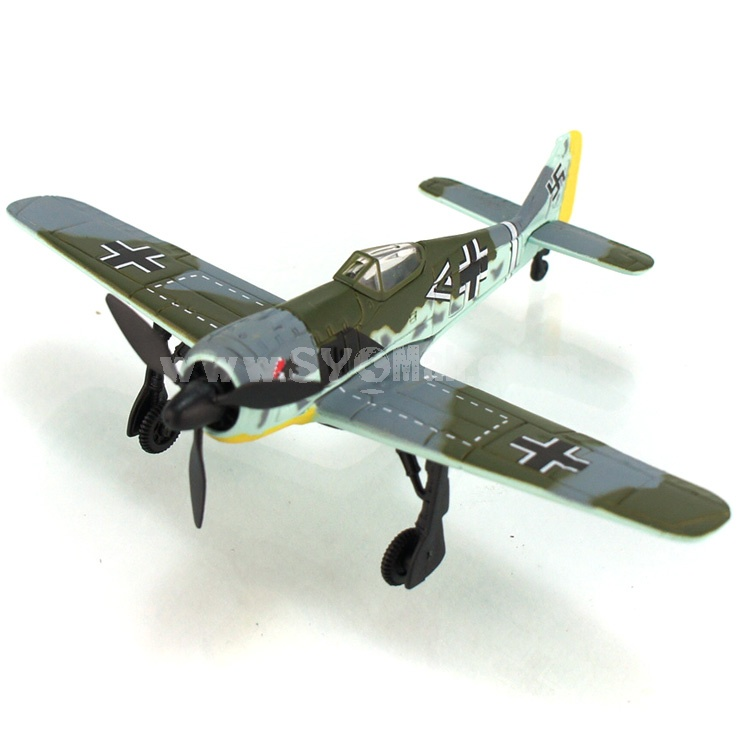 Diecast Metal Fighter Plane Model Aircraft Model with Sound & Light Effect