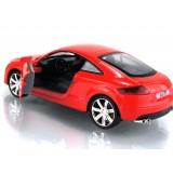 Wholesale - Audi TT Diecast 1:32 Metal Model Car with Sound & Light Effect Pull Back