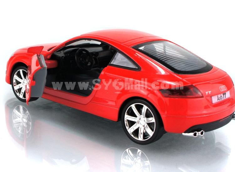Audi TT Diecast 1:32 Metal Model Car with Sound & Light Effect Pull Back