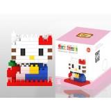 Wholesale - LOZ Diamond Mini Block Toys Cute Cartoon Toys Action Figure - HITTY