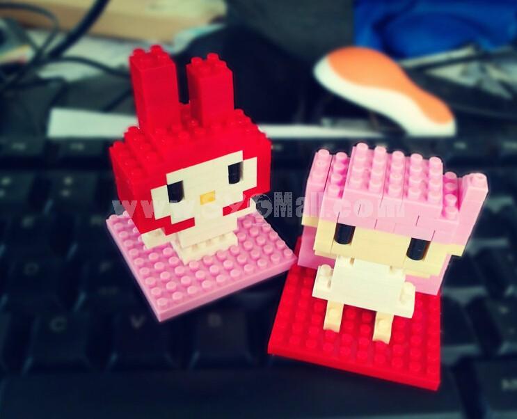 LOZ Diamond Mini Block Toys Cute Cartoon Toys Action Figure - MELODY