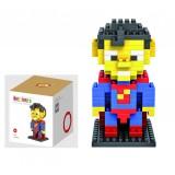 LOZ DIY Diamond Mini Block Toys Cute Cartoon Toys Action Figure - SUPERMAN