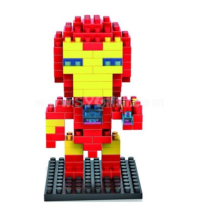 LOZ Diamond Mini Block Toys Cute Cartoon Toys Action Figure - IRON MAN