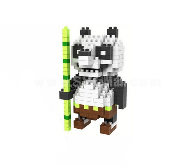 LOZ Diamond Mini Block Toys Cute Cartoon Toys Action Figure - KONGFU PANDA