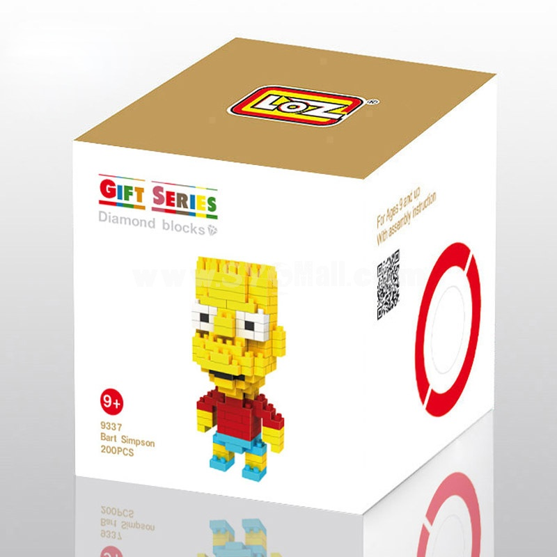 LOZ Diamond Mini Block Toys Cute Cartoon Toys Action Figure - SIMPSON