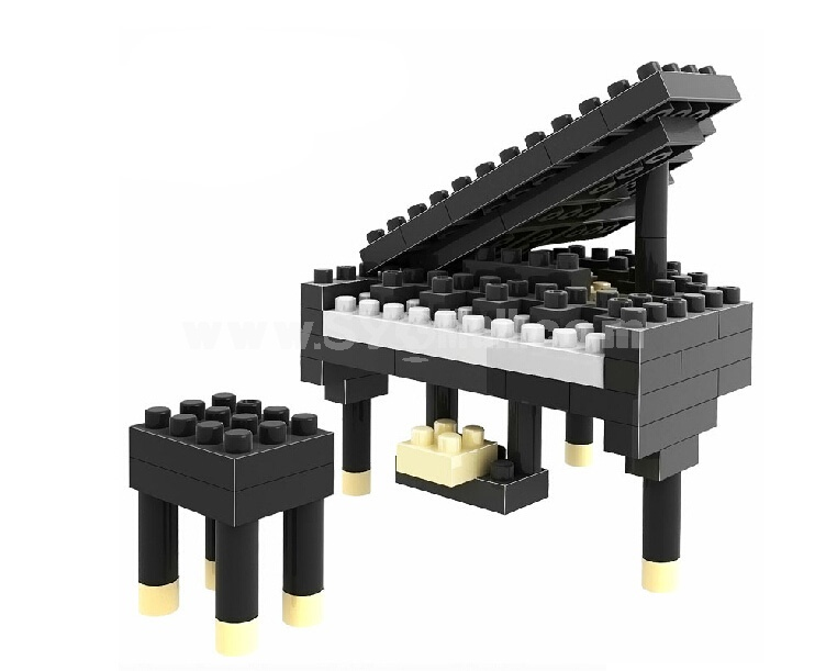 LOZ Diamond Mini Block Toys Cute Cartoon Toys Action Figure - PIANO