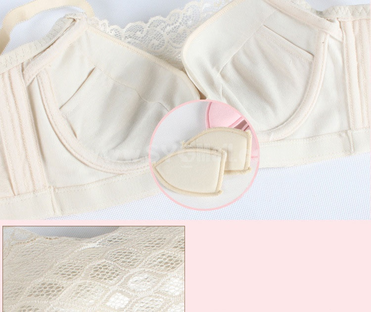 Anti-emptied Lace  Boob Tube Top Adjustable Deep V Extra Gather & Push up Bra