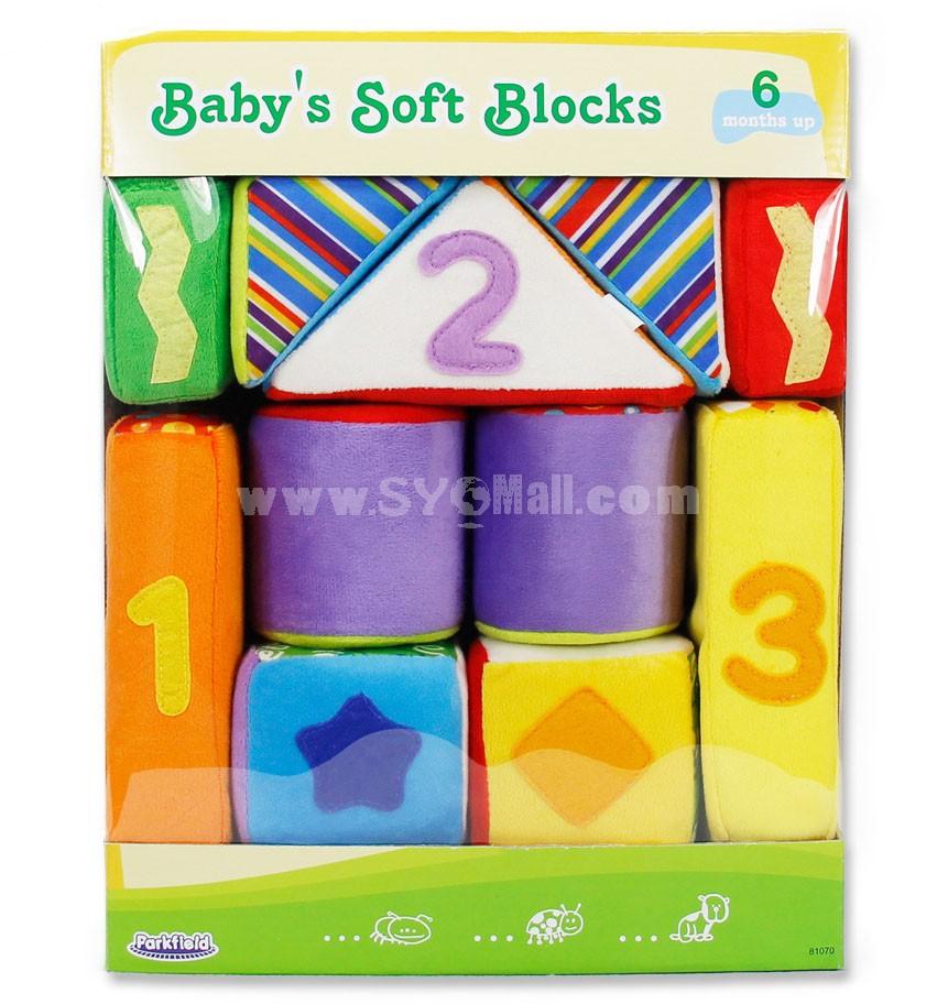 DIY Baby  Plush Rattle Toys 11pcs/Set