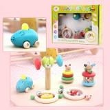 Wholesale - Baby Rattle Toys 6pcs/Set
